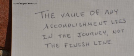 Accomplishment in the Journey 2